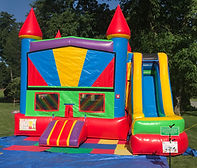 bounce house, inflatable, combo