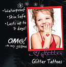 tattoos, glitter, partie, school, caricatures
