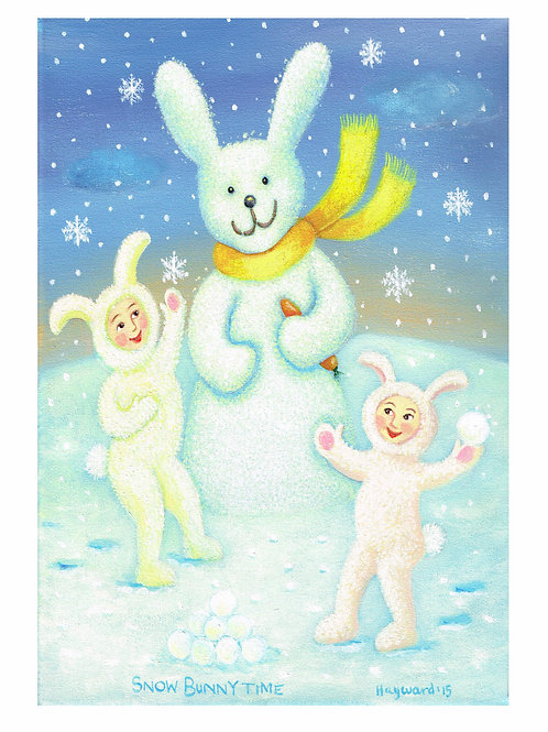 Snow bunny time