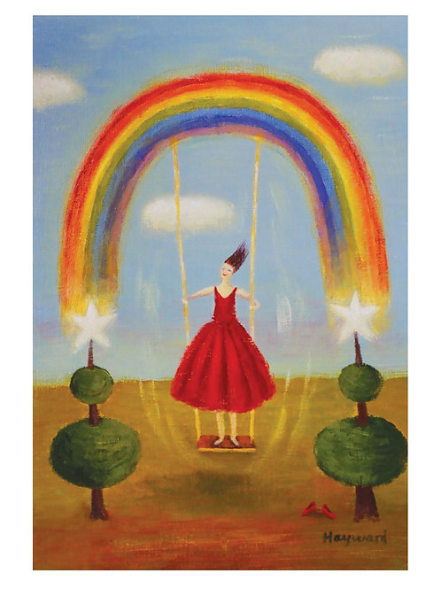 Swinging from a rainbow
