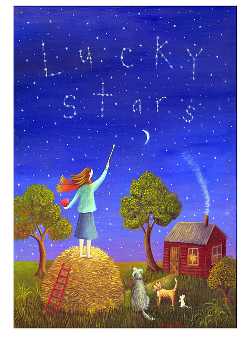Counting lucky stars