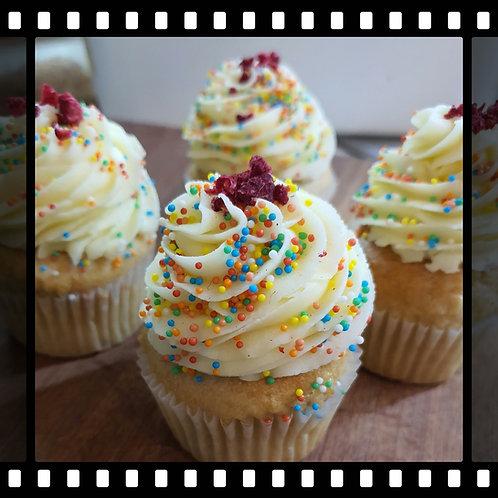 Vegan Vanilla Cupcake