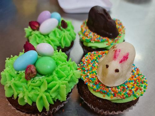 Easter Chocolate Cupcake 4pk
