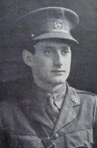 Second Lieutenant Arthur Thompson