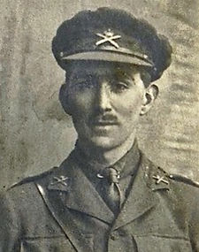 Edward Glanville Smith before the Battle of Bullecourt in April 1917