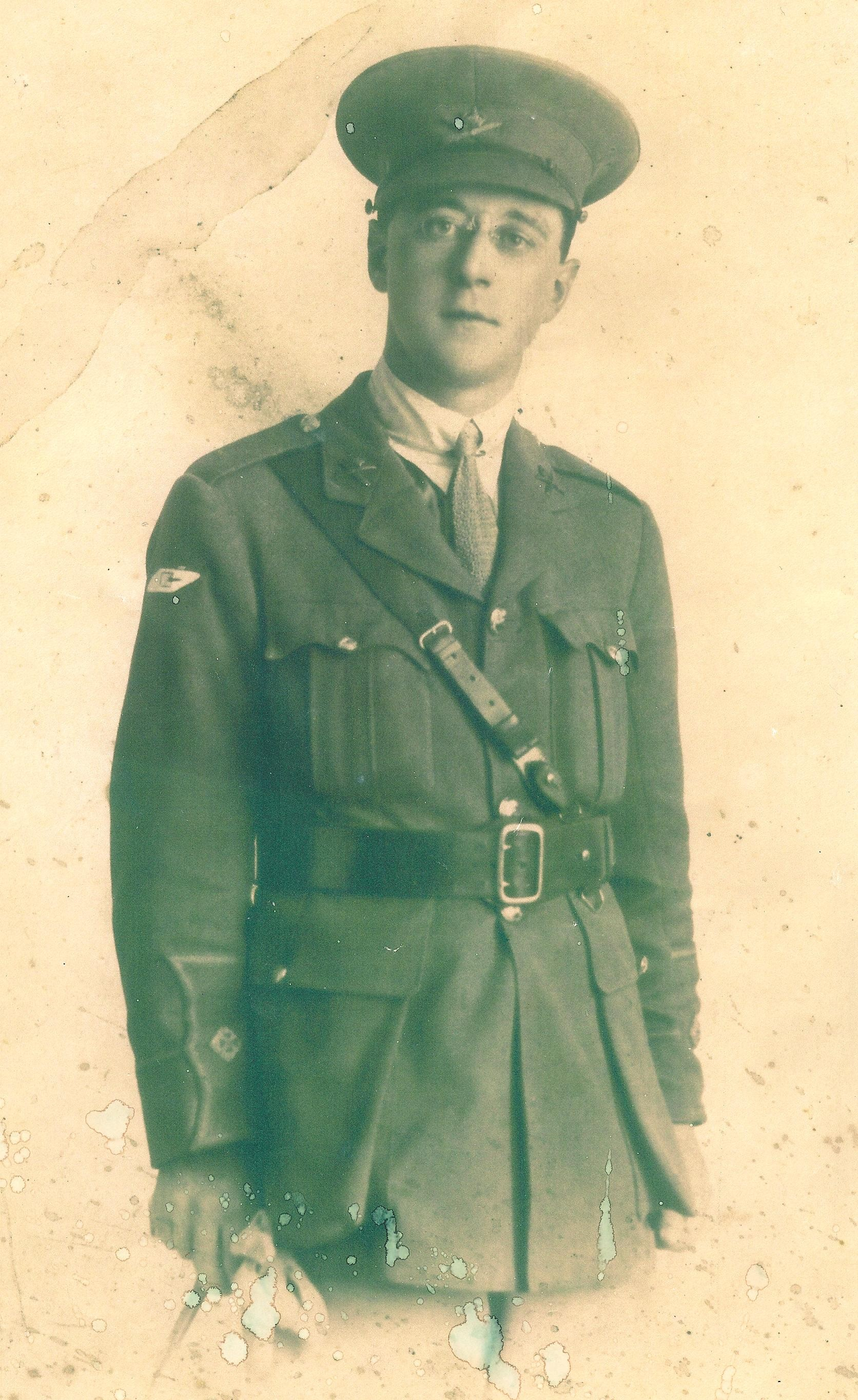 07 2nd Lt Frank Heap - Heap family