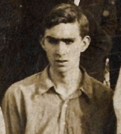 Edward Glanville Smith aged 17 on a football tour of France