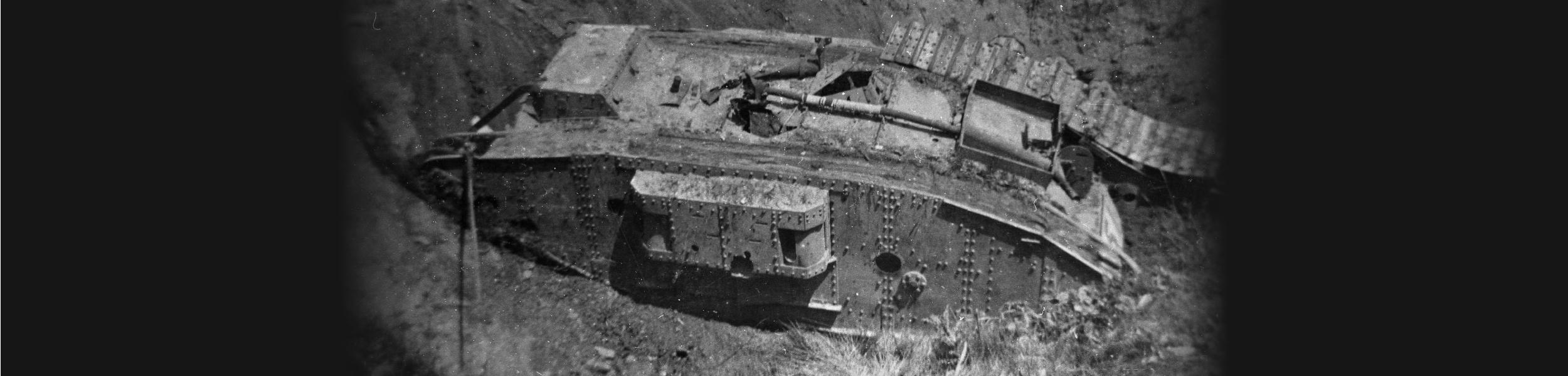 'Burying-of-a-tank'