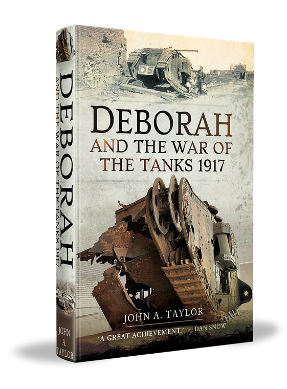 Deborah and the War of the Tanks 1917 Book