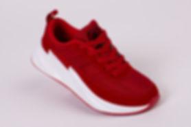 кросовки красные