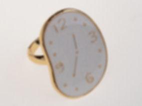 кольцо мягкие часы