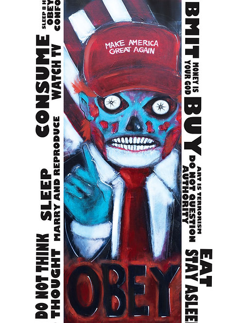Obey- They Live