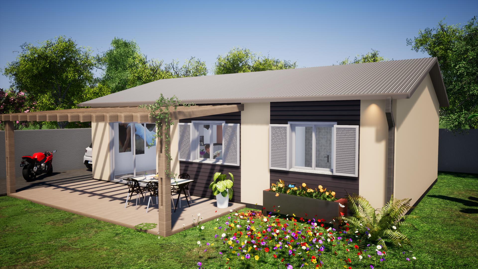 Villa simple Master Concept