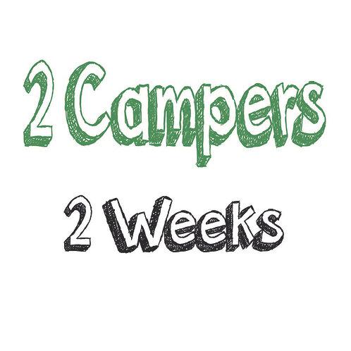 Register 2 Campers (2 WEEKS)