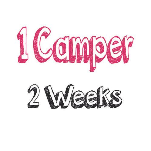 Register 1 Camper (2 WEEKS)