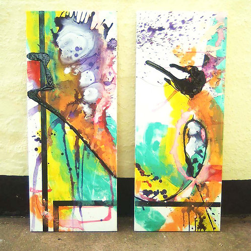 Untitled FM - Diptych
