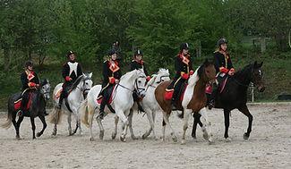 Carousel des chevaux, dressage le relais centre équestre