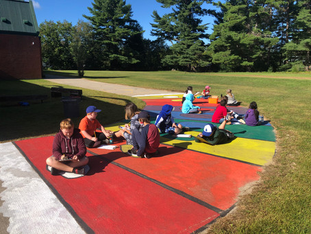 Hills' kids are outside learning and loving it