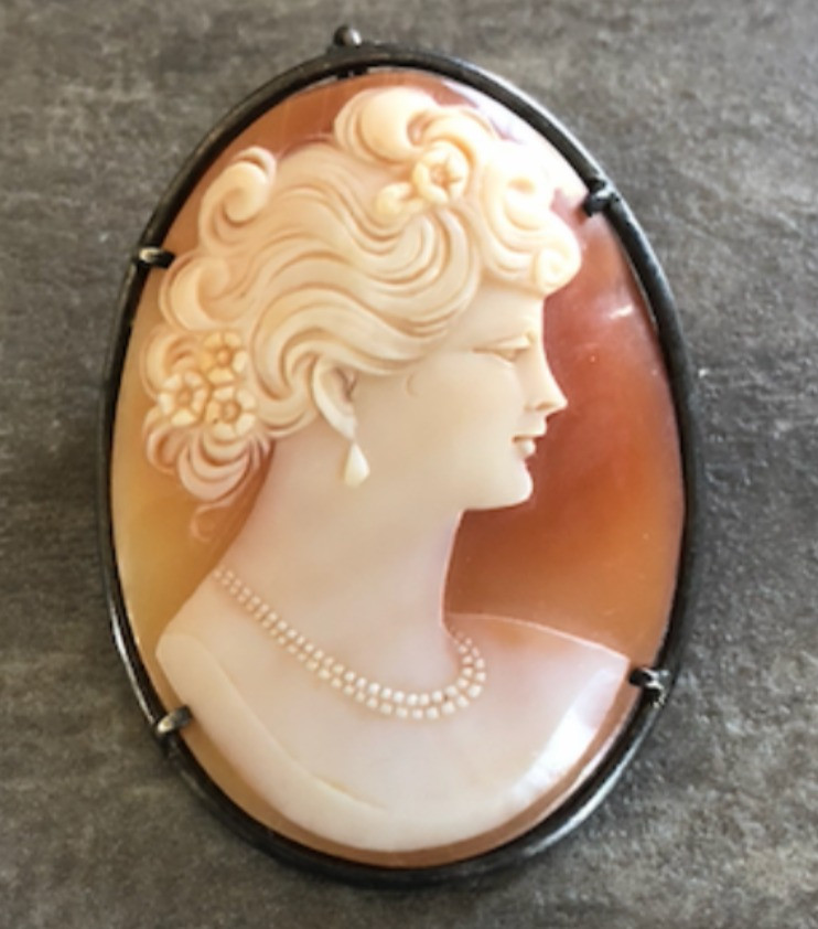 A Victorian Cameo donated by Wakefield Antiques, valued at $120, auctioned for $125 dollars during the Wakefield Boutique Charity Auction. Photo courtesy Alannah Ward
