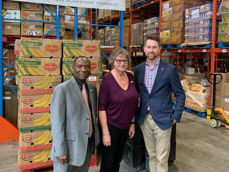 Hills' food banks getting funds from feds