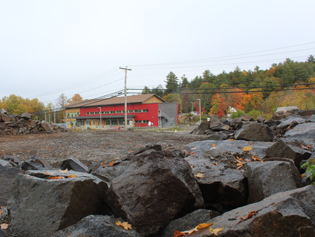 Rock and debris 'cannoned' into Wakefield Elementary