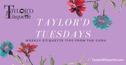 Taylor'd Tuesdays, FB AD