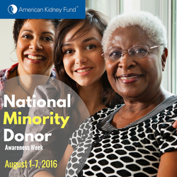 National Minority Donor Day