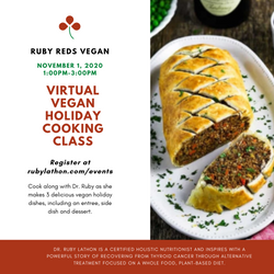 Ruby Reds Virtual Cooking Class Graphic
