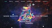 DanceWeb Design Portfolio