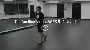 Tap Audition Video