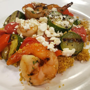 Greek Grilled Shrimp
