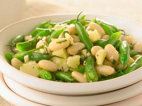 Pecorino & Bean Salad