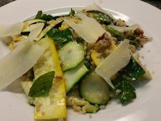 Zucchini & Quinoa Salad