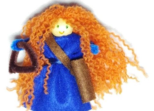 בובות תיאטרון - כל ילד יצור לעצמו לפי דמיונו שתי בובות על עיפרון
