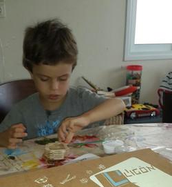 מכינים כדור פורח - פעילות לילדים
