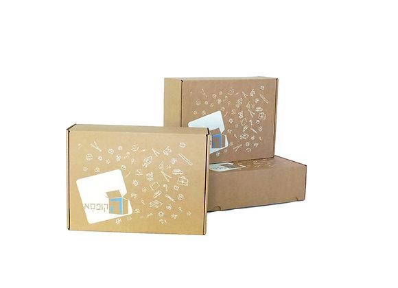 שלוש קופסאות - מנוי רבעוני