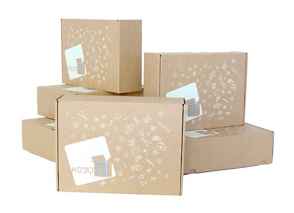 מנוי לחצי שנה - 6 קופסאות מפתיעות יצירתיות ומלאות בכיף