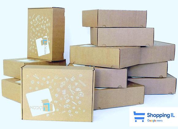 בוחרים 16 קופסאות, משלמים על 12 ומקבלים 4 מתנה - ומשלוח עד הבית חינם!