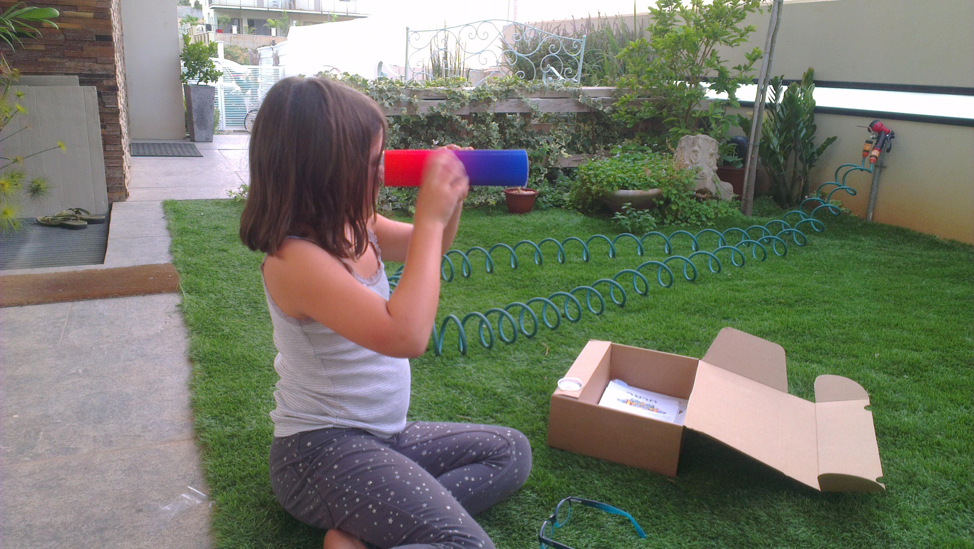 הכנת קלידוסקופ - פעילות לילדים