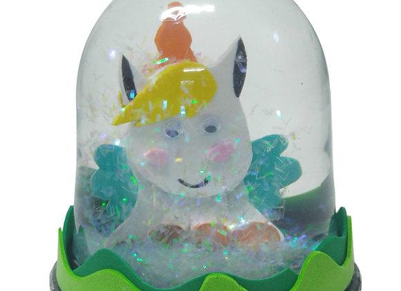 כוח המים - יצירת כדור שלג עם דמות מרכזית לפי הדמיון  - 6 פעילויות בקופסא