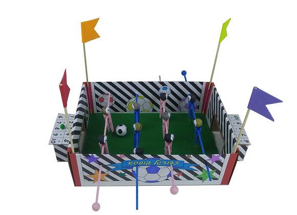 כדור - יצירת כדורגל קופסא - 7 פעילויות בקופסא