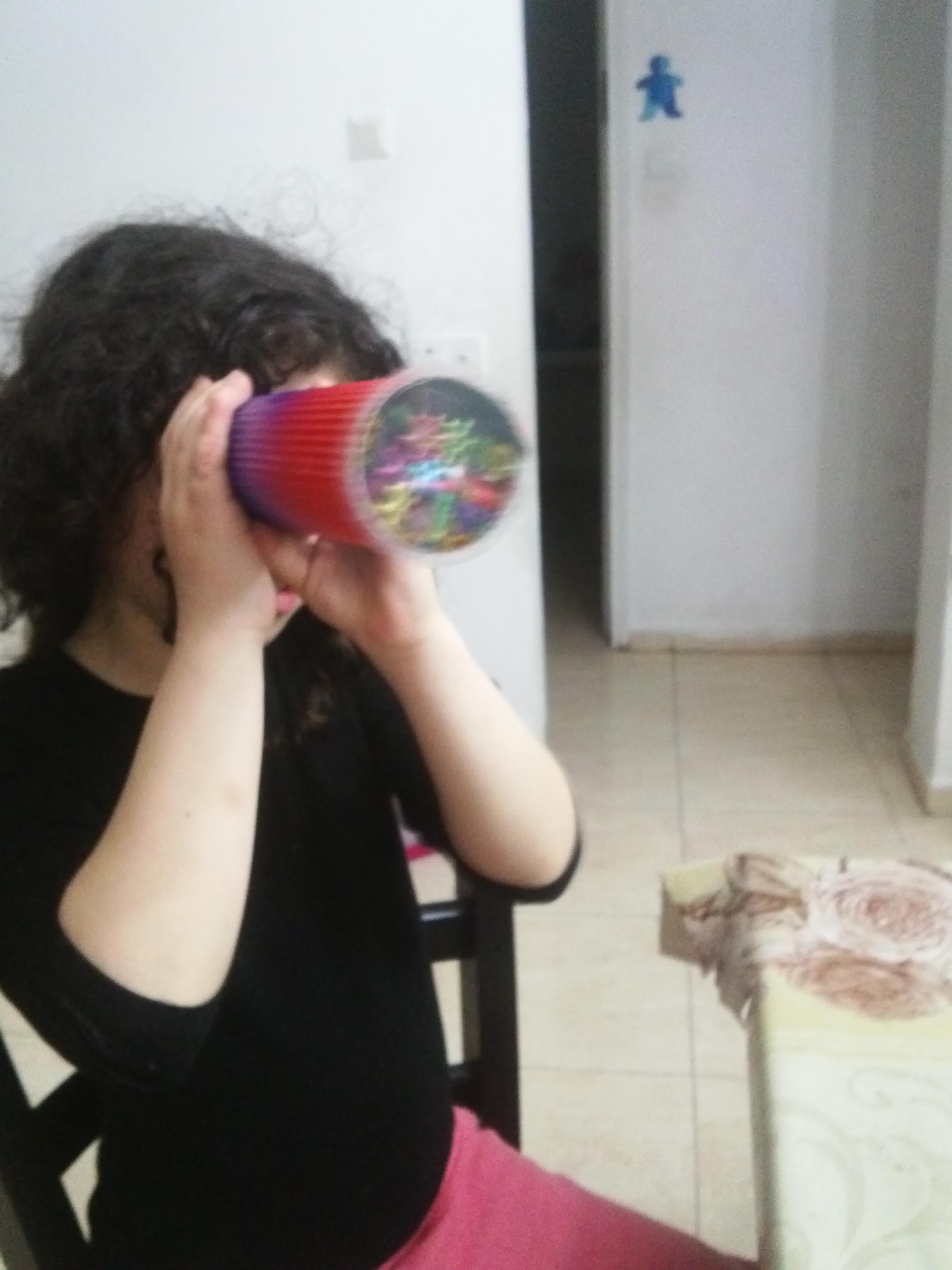 קלידוסקופ  - הפעלה לילדים בבית