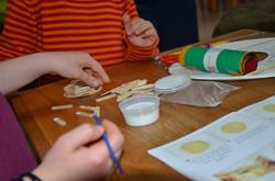 כדור פורח - פעילות יצירה לילדים בבית