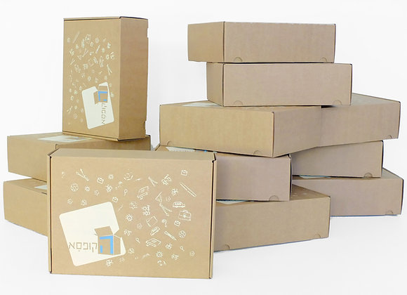בוחרים 10 קופסאות, משלמים על 8 ומקבלים 2 מתנה - ומשלוח עד הבית חינם!
