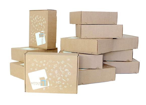 מנוי שנתי - 12 קופסאות