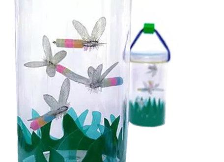 צנצנת גחליליות - כל ילד יצור צנצנת עם גחליליות זוהרות בחושך ויקבל פנס