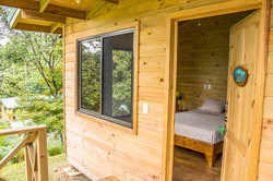entry wooden cabin tortuga