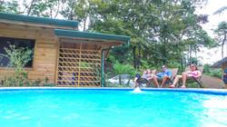 piscina forest lodge costa rica