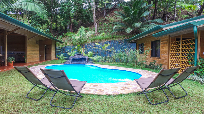 Piscina Forest Lodge Costa Rica