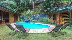Piscine Forest Lodge Costa Rica